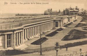 Belgium Ostende Vue generale de la Galerie Léopold 02.66