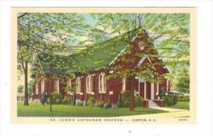 St. John's Lutheran Church, Clinton, South Carolina, 1930-1940s