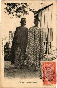 CPA AK Senegal-Dakar-Femmes Wolof (235410)