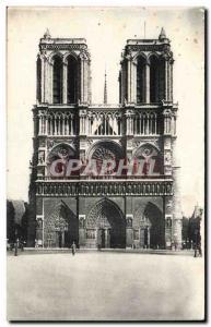 Paris Old Postcard L & # 39eglise Notre Dame