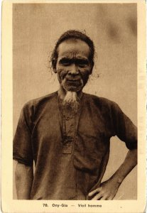 CPA AK VIETNAM Ony-Gia - Vieil homme (94704)