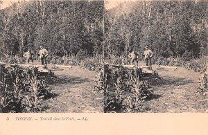 Travail dans la Foret Tonkin Vietnam, Viet Nam Unused