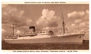 Pretoria Castle , Union Castle Line