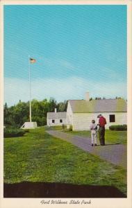 Michigan Copper Harbor Fort Wilkens State Park