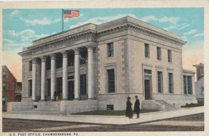 CHAMBERSBURG , Pennsylvania , 1910s ; Post Office