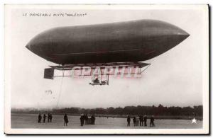 Old Postcard Airship Zeppelin Mixed Malecot