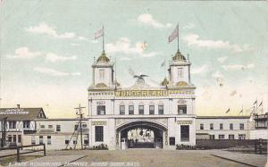 REVERE BEACH , Massachusetts , 1900-10s ; WONDERLAND Entrance