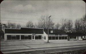 Eatontown NJ Mahns Bros Bicycle Shop Postcard