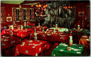 Idaho Springs, Colorado Postcard THE HANSON LODGE Restaurant Roadside c1950s