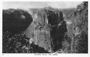 Rhodesia, Zimbabwe, Victoria Falls, The Gorge, Bridge, Panorama