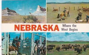 Nebraska Where The West Begins Multi View