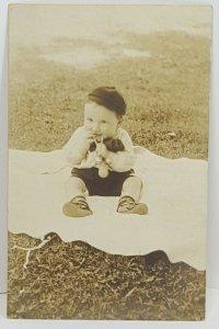 Baby Portrait RPPC Missouri Vintage Postcard