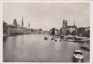 RP, Von D. Quaibrucke Aus Gefehen, ZURICH, Switzerland, 1920-1940s