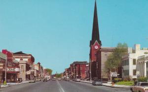 BATAVIA , New York , 50-60s ; Main Street , Looking West