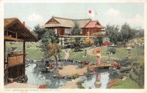 JAPANESE TEA GARDEN Coronado, CA c1920s Vintage Postcard