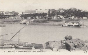 ASWAN (Egypt) , 00-10s ; with Grand Hotel