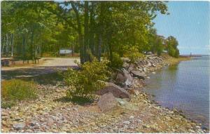 Entrance to Presque Isle Park Marquette Michigan MI