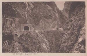 Gorges Du Chabet 17 Bougie Algeria Antique Algerian Mediterranean Old Postcard