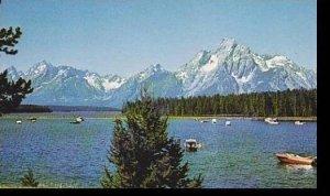 Wyoming Grand Teton National Park Colter Bay