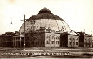Illinois Springfield State Fair Grounds Dome Building