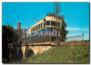 Modern Postcard Laon tramway