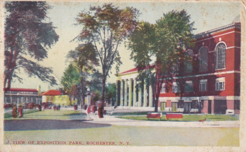 ROCHESTER, New York, PU-1913; A View Of Exposition Park