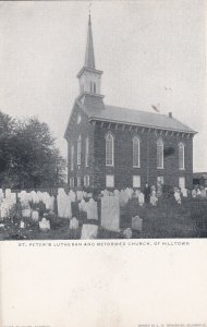 HILLTOWN , Pennsylvania, 1901-07; St. Peter's Lutheran and Reformed Church