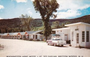 New Hampshire Bretton Woods Washington Arms Motel sk5249