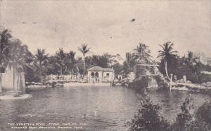 Florida Coral Gables The Venetian Pool 1931
