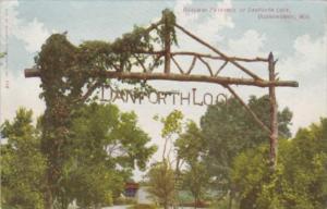 Wisconsin Oconomowoc Roadway Entrance To Danforth Lock