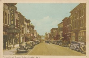 KINGSTON , Ontario, Canada, 1930s ; Princess Street