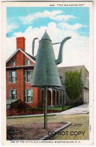 Big Coffee Pot, Winston-Salem NC