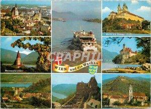 Modern Postcard Wien und die Wachau
