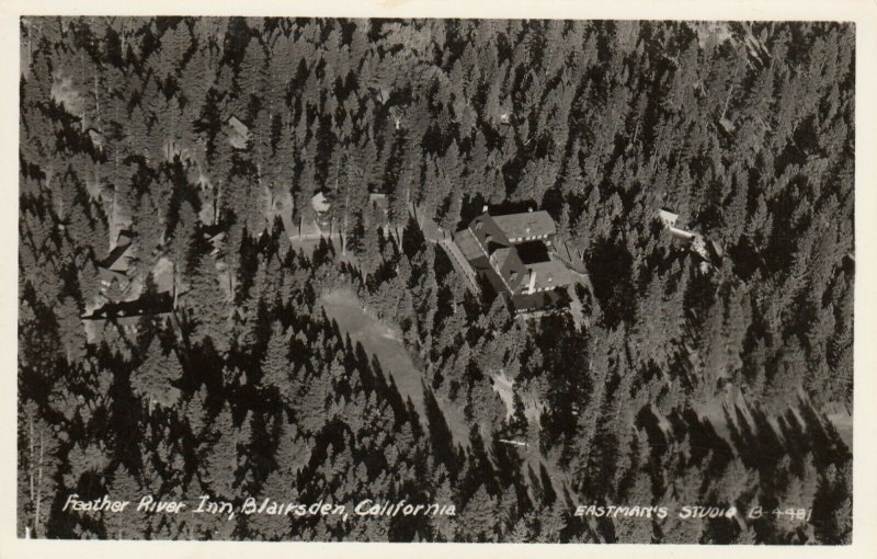 RP: Feather River Inn , BLAIRSDEN , Ca , 1930-40s