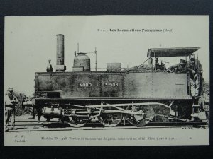 French Railway Locomotive NORD Series 3901 to 3924 No.3908 c1918 Postcard