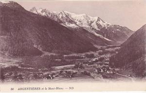 CHAMONIX-MONT-BLANC, Argentieres, Haute Savoie, France, 00-10s