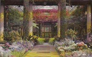 Pennsylvania Kennett Square Longwood Gardens The Main Conservatory Summer Dis...