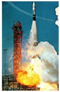 19865  Atlas Agena Lifts off Pad 14    John F.Kennedy Space Centers N.A.S.A.