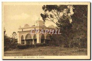 Old Postcard Tunis Belvedere Casino
