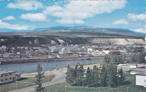WHITEHORSE, Yukon, Canada; Aerial View, Yukon River, 40-60s
