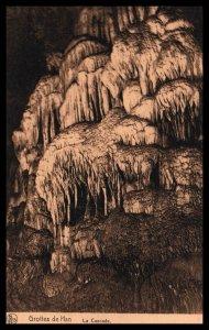 La Cascade,Grottes de Han,Belgium BIN