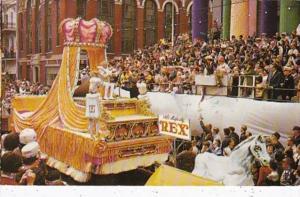 Louisiana New Orleans King Rex King Of Mardi Gras