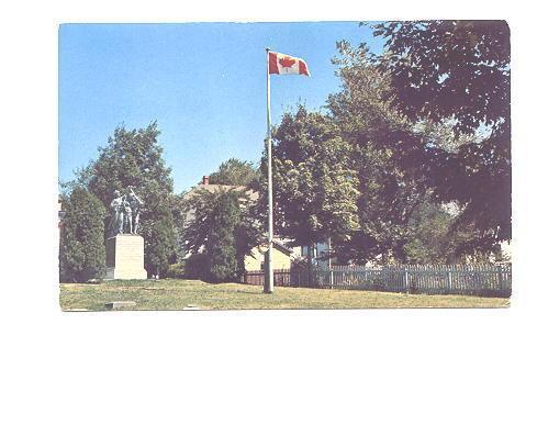 War Memorial Pictou Nova Scotia,