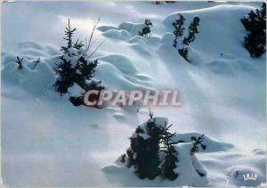 Modern Postcard Winter atmosphere