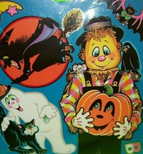 Halloween Beistle Decorations Vintage SEALED 1981 Witch Owl Skull 10 Different