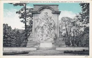 Monument Commemorating Battle Of Princeton, Princeton, New Jersey, 1910-1920s