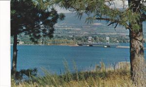 Okanagan Lake at KELOWNA , B.C. , Canada , 50-60s