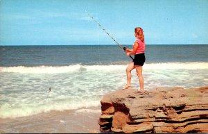 Fishing Scene At Erie Pennsylvania