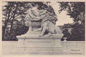 Krieger-Denkmal, North Rine-Westphalia, Germany, 10-20s