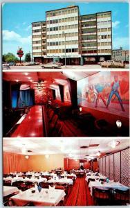 Seattle, Washington Postcard CENTURY HOUSE HOTEL & Restaurant c1960s Unused